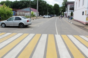 В Лихославле на части улиц изменена схема движения