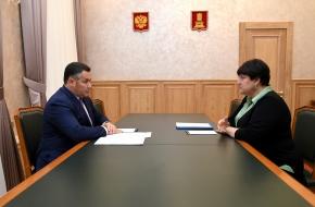 Игорь Руденя и Наталья Виноградова обсудили строительство детских садов и создание новых производств в муниципалитете
