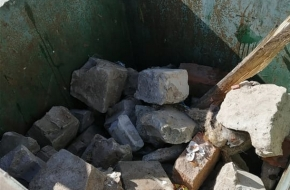 В Лихославльский район завезли дополнительные мусорные контейнеры, однако местные жители используют их не по назначению