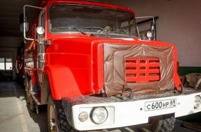 В пожарно-спасательной части поселка Калашниково открыты вакансии водителя и пожарного