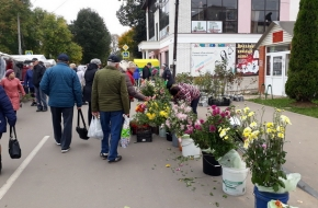 В Лихославле прошла Ярмарка выходного дня