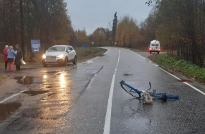Пенсионерка, которую сбил автомобиль в Лихославльском районе, умерла в больнице