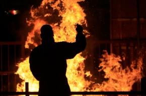 В Лихославле арестовали поджигателя