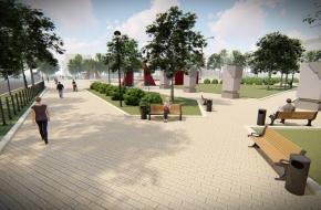 Открыт прием предложений по наполнению парка 70-летия Победы в городе Лихославле