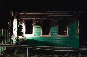 В Лихославльском районе в пожаре погиб человек