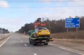 Под Лихославлем поймали пьяного гонщика на золотистой «Audi», который устроил погоню с несколькими экипажами ДПС