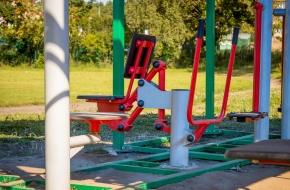 Кавское сельское поселение получит комплект уличных тренажеров