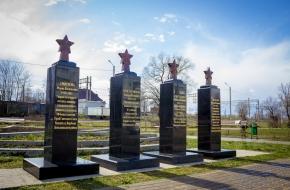 В Лихославле установлены два новых памятных знака землякам – Героям Советского союза