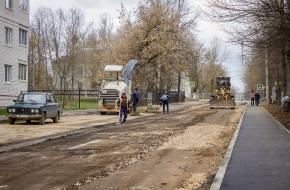 Театральный переулок в Лихославле приведут в порядок