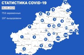 В Лихославльском районе подтверждены 26 случаев заражения коронавирусом
