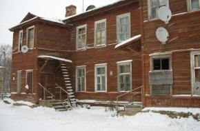 В Спирово ветеран труда вынужден жить в аварийном доме построенном 166 лет назад