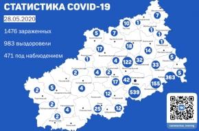 Количество зараженных COVID-19 в Лихославльском районе достигло 122 человек