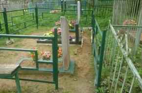 В Лихославльском районе вандалы взялись за кладбища (фото)