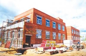 Новый детский сад в Лихославле строится по графику
