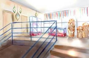 В Стану начался ремонт помещений выставочного зала «Дом карельской культуры»