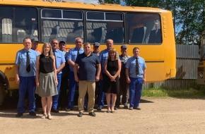 Работники Лихославльского АТП обзавелись новой форменной одеждой