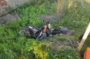 Водитель скутера разбился насмерть под Лихославлем (фото)