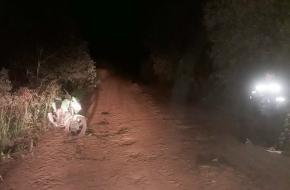 Ночью под Лихославлем мотоциклист вылетел с дороги и попал в больницу (фото)