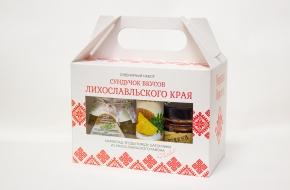 Лихославльский район обзавелся новым сувениром «Сундучок вкусов лихославльского края»