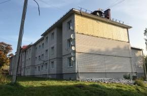В поселке Калашниково обвалилась стена многоквартирного дома (фото)
