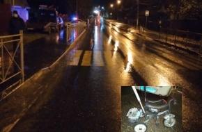 Появились подробности и фото с места наезда машиной на ребенка в Лихославле