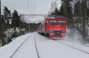 В декабре на три дня отменят две электрички на маршруте Тверь — Лихославль