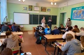 Калашниковским школьникам рассказали о правилах безопасности