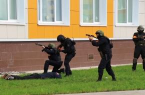 В Лихославле проводятся антитеррористические учения