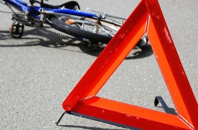 В Лихославле ребенок на велосипеде столкнулся с иномаркой