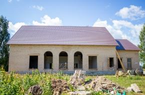 В Лихославльском округе идет масштабный капитальный ремонт Дома культуры