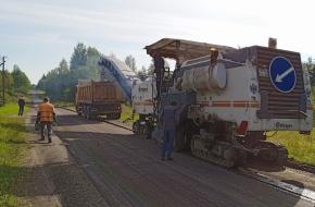В Спировском районе начался ремонт дороги Спирово–Козлово–Ососье (фото)