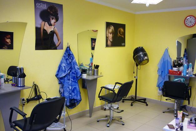Парикмахерская женский зал