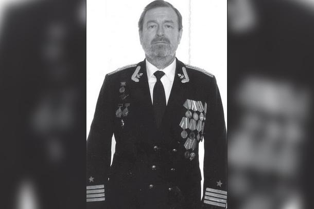 Капитан 2-го ранга Борис Георгиевич Красников. Фото: Наша жизнь