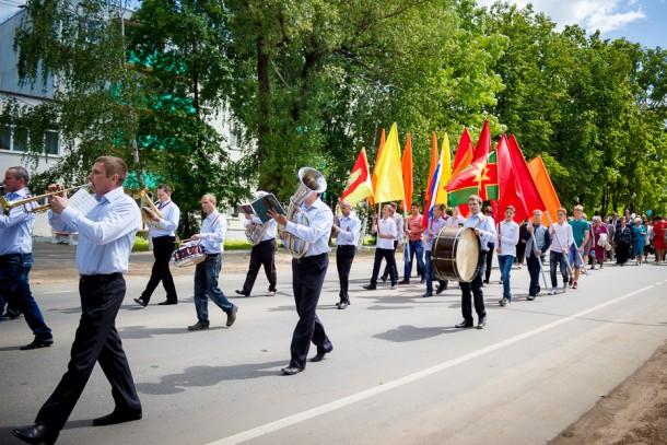 Праздничное шествие. Фото: kalashnikovo.ru