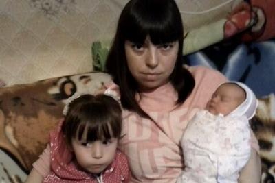 Беженка с Донбаса с детьми. Фото: vk.com/donbass_tver