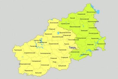 Схема одномандатных избирательных округов