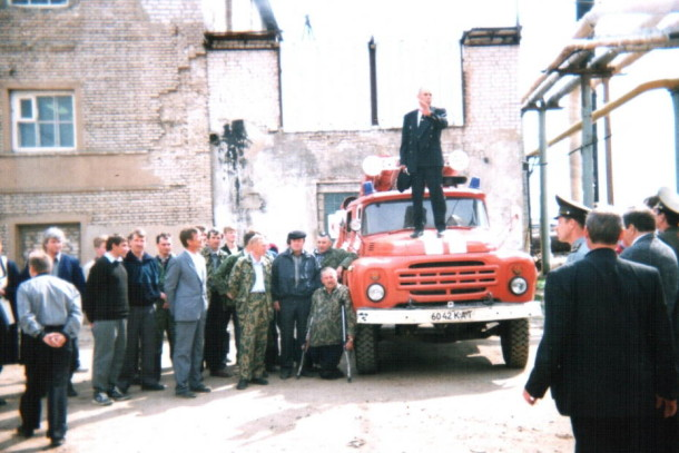 Заслуженный спасатель России Василий Петрович Смирнов. Фото: МЧС Тверской области