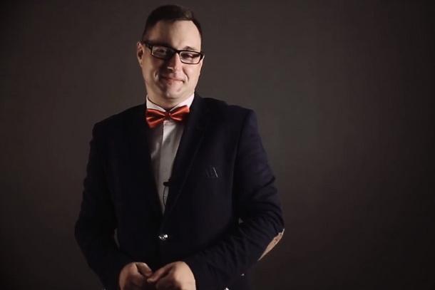Ведущий-музыкант Сергею Климов