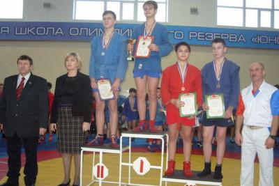 Кутузов Евгений — 3 место в весе до 60 кг