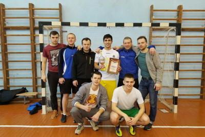 Победители Первенства района по мини-футболу. Фото: lihoslavl69.ru