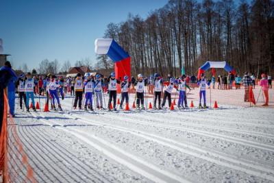 Лыжные соревнования в поселке Калашниково. Фото: 360tver.ru