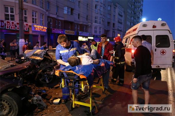 Место ДТП. Фото: tverigrad.ru