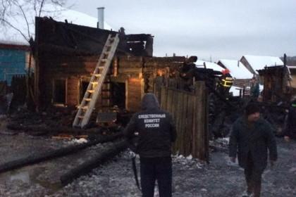 Место пожара. Фото: tver.sledcom.ru