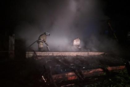 Место пожара. Фото: ГУ МЧС по Тверской области