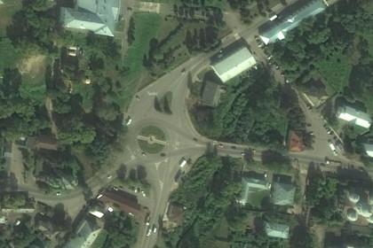 Площадь Пушкина, Торжок. Фото: yandex.ru/maps