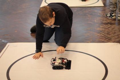 Областной турнир по Робосумо. Фото:  Тверь-робот / tver-robot.3dn.ru