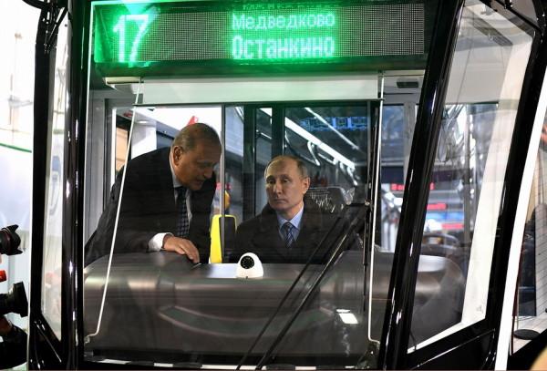 Президент России Владимир Путин посетил Тверскую область. Фото: Пресс-служба Правительства Тверской области