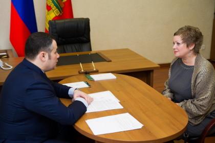 Встреча Игоря Рудени и Галины Ершовой
