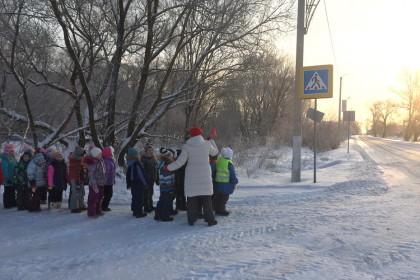 Пешеходная экскурсия «Прогулка юного пешехода»