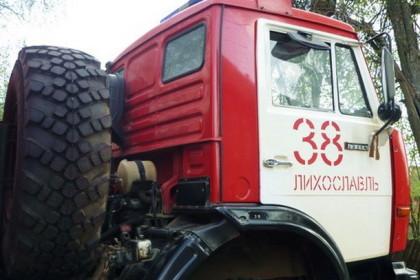 Пожарная машина ПСЧ-38 г.Лихославль. Фото: 360tver.ru
